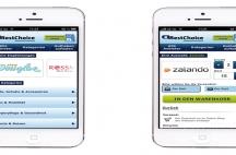 Cadooz Webshop und Mobile Adaption